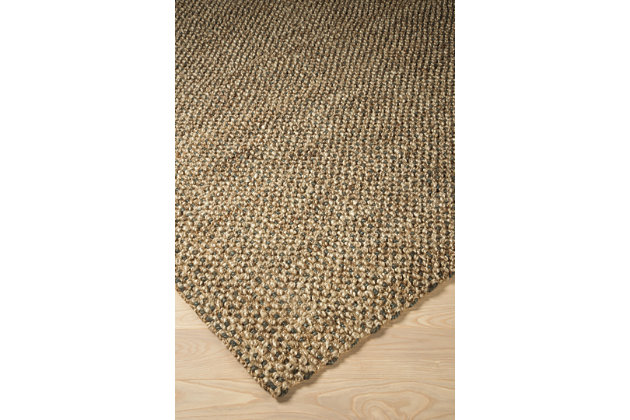 Hand Woven 5' x 7' Rug, Multi, large