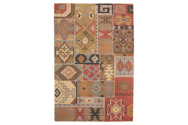 Posey 5' x 8' Rug, Multi, large