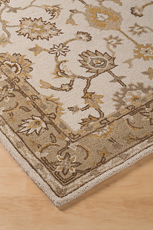 Jinx 5' x 8' Rug, Gold, rollover