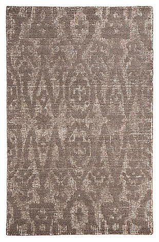 Finney 5' x 8' Rug, Brown, large