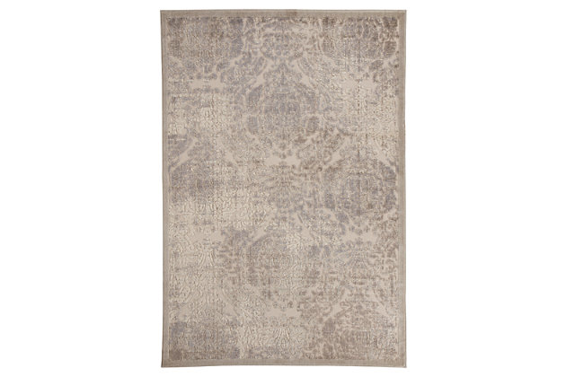 "Fulci 5'3"" x 7'5"" Rug, Cream, large"