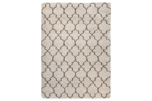 "Gate 5'3"" x 7'5"" Rug, Cream, large"