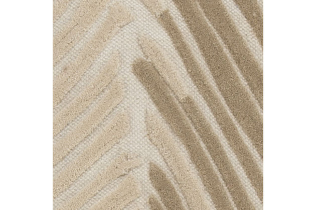 Wave Hill 5' x 8' Rug, Alabaster, large