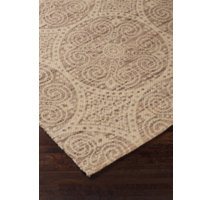 Sage flatweave jute rugs with a medallion design