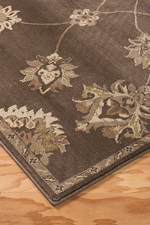 "Adelina 5'3"" x 7'7"" Rug, Taupe, rollover"