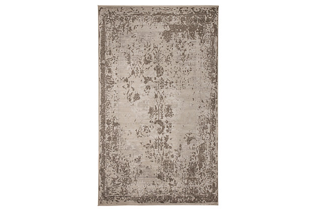 Dajiro 5' x 7' Rug by Ashley HomeStore, Gray