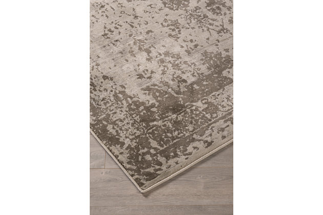 Abstract Floral Designed Area Rugs