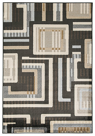 "Juhani 5' x 7'3"" Rug, Multi, large"