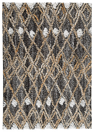 Vinmore Medium Rug, Tan/Gray, large
