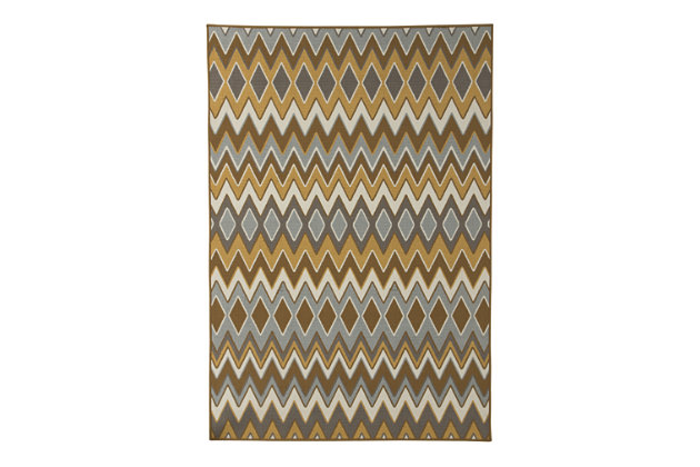 Dedura Large Rug by Ashley HomeStore, Multi, Polypropylene (100 %)