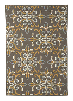 Savery 8' x 11' Indoor/Outdoor Rug, , large