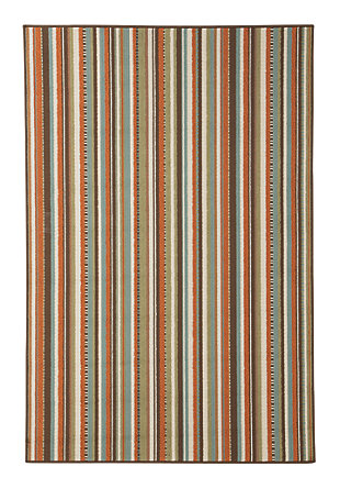 "Montie 5'3"" x 7'6"" Indoor/Outdoor Rug, Multi, large"