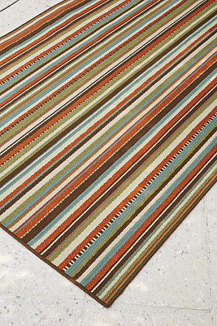 "Montie 5'3"" x 7'6"" Indoor/Outdoor Rug, Multi, rollover"