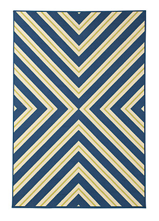Metrie 5' x 7' Indoor/Outdoor Rug, , large