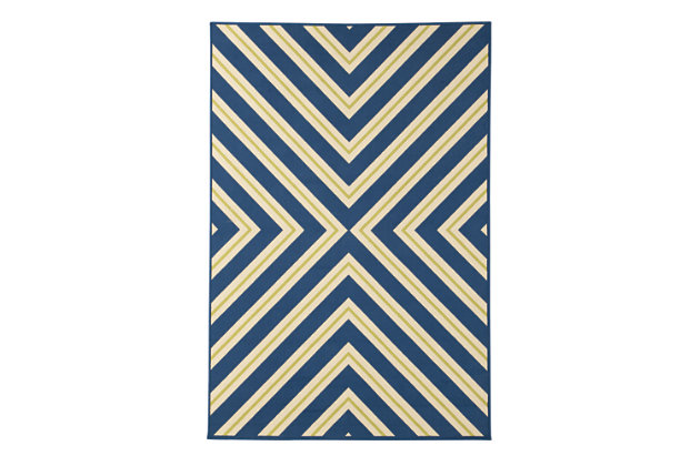 "Metrie 5'3"" x 7'6"" Indoor/Outdoor Rug, , large"
