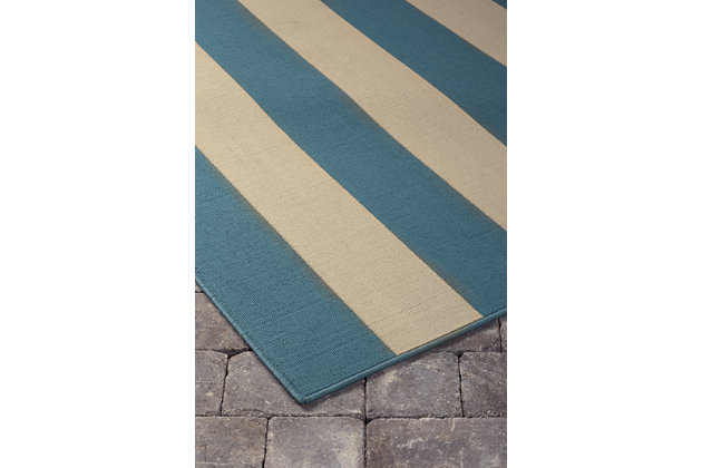 "Trentice 5'3"" x 7'6"" Indoor/Outdoor Rug, , large"