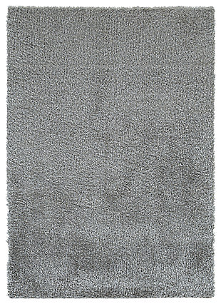 Juro 5' x 7' Rug, Gray, large