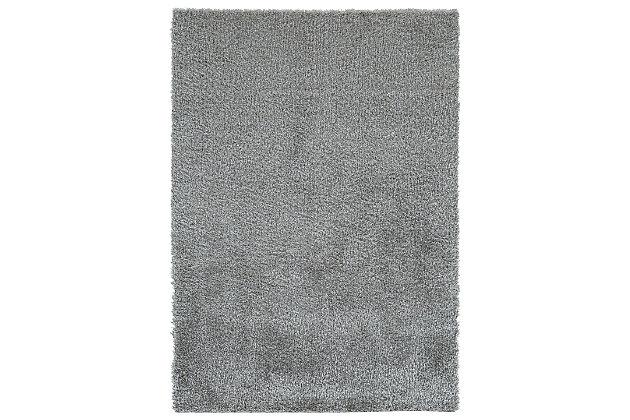 Juro 5' x 7' Rug, Gray, large