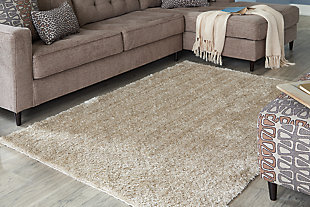 Jumeaux 5' x 7' Rug, Beige, rollover