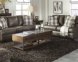 Frere 8' x 10' Rug, Brown, large
