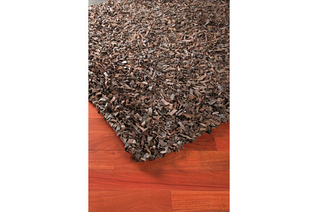 Frere 5' x 7' Rug, Brown, large