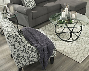 Coulee 5' x 7' Rug, Natural/Cream, large