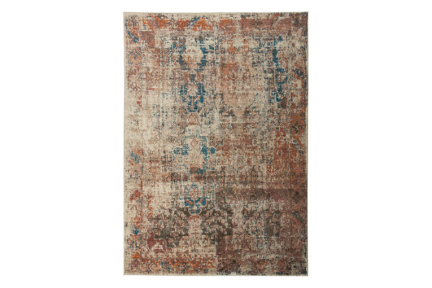"May 5'3"" x 7'6"" Rug, Multi, large"