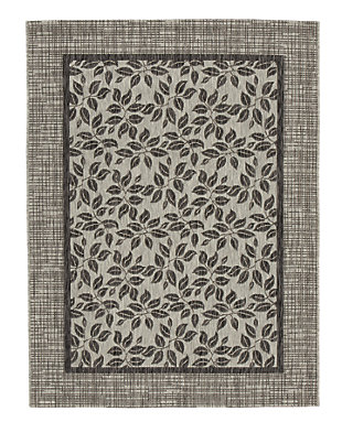 "Jelena 5'3"" x 7'3"" Indoor/Outdoor Rug, Tan/Gray, large"