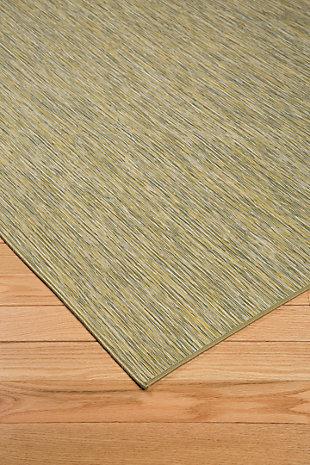 Jadzia 5' x 7' Rug, Green, rollover