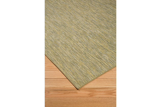 Jadzia 5' x 7' Rug, Green, large