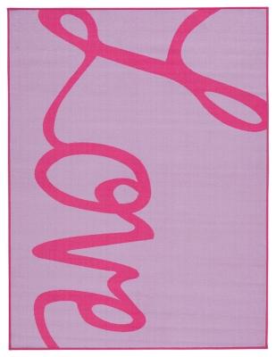"""Ashley Janie 5' x 6'7"""" Rug, Lavender/Pink"""