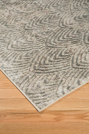 "Robert 7'10"" x 9'10"" Rug, Metallic, large"