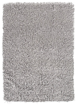 Josue 5' x 7' Rug, Gray, large