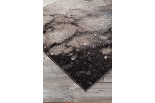 Joash 5' x 7' Rug, Gray, large