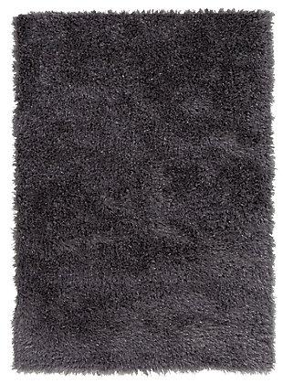 Jaznae 5' x 7' Rug, Charcoal Gray, large