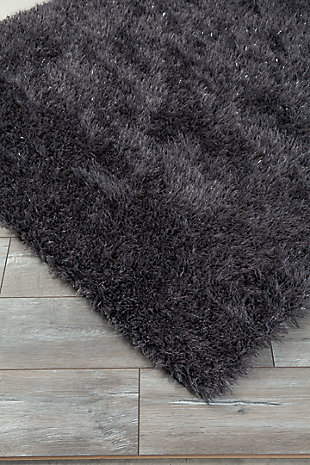 Jaznae 5' x 7' Rug, Gray, rollover