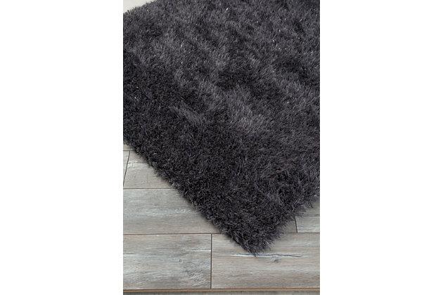 Jaznae 5' x 7' Rug, Gray, large