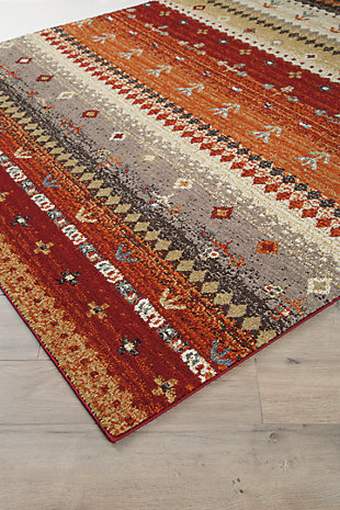 Jaide 5' x 7' Rug, Multi, large
