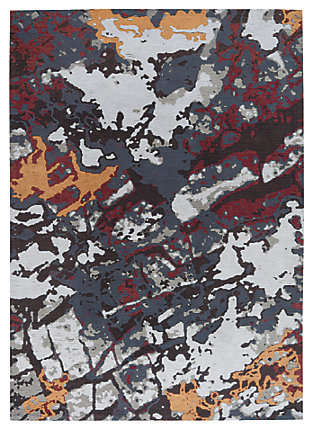 Jame 5' x 7' Rug, Multi, large