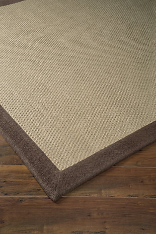 Delta City 5' x 7' Rug, Chocolate, large