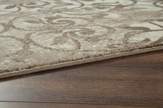 Cadrian 5' x 7' Rug, Natural, large
