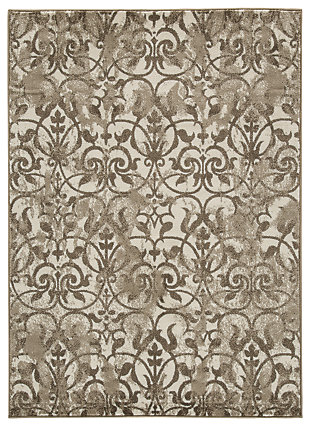 Cadrian 5' x 7' Rug, Natural, large