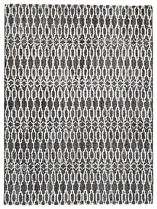 Esmee Medium Rug, Gray/Ivory, large