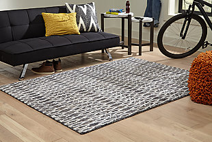 Esmee Medium Rug, Gray/Ivory, rollover