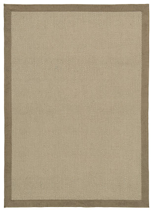 Delta City 5' x 7' Rug, Khaki, large