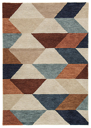 Jacoba 5' x 7' Rug, Multi, large