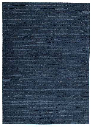 Royer 5' x 7' Rug, Blue, large
