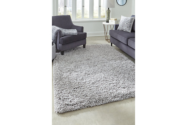 Caelin 5' x 7' Rug, Gray, large