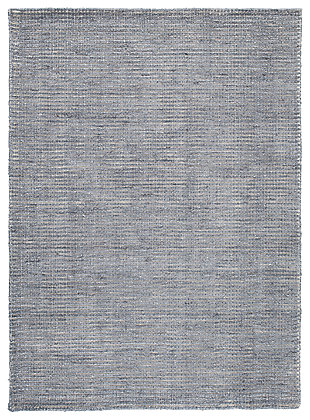 Jonay 5' x 7' Rug, Cream/Blue, large