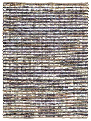 Kallita 5' x 7' Rug, Natural/Gray, large